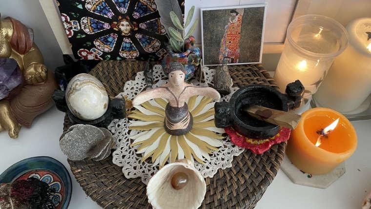 Création d'un autel chez soi